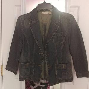 DKNY Jeans denim blazer